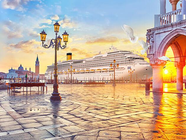 義大利威尼斯市中心將禁止大型郵輪通行及停靠