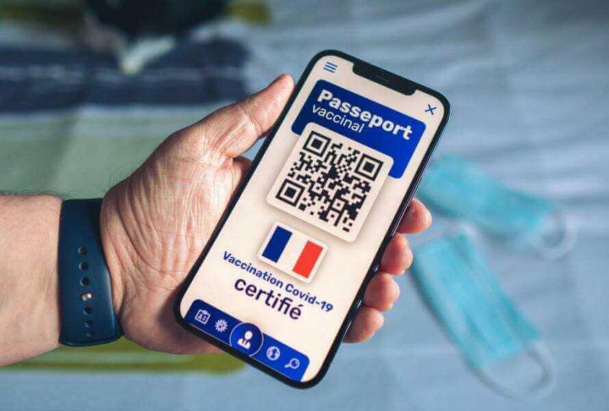 法國衛生檢疫通行證